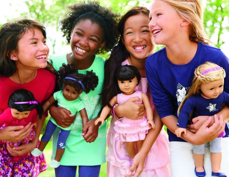 Cada niña podrá crear a su mejor amiga a su imagen y semejanza.