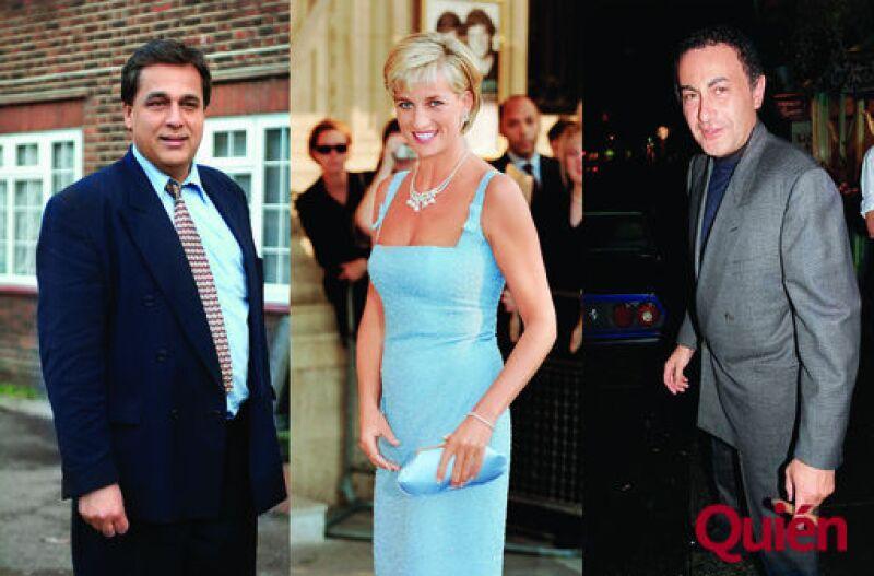 Hasnat Khan, Princesa Diana de Gales, Dodi Al Fayet