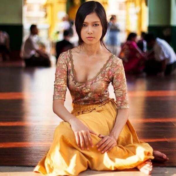 mujer myanmar
