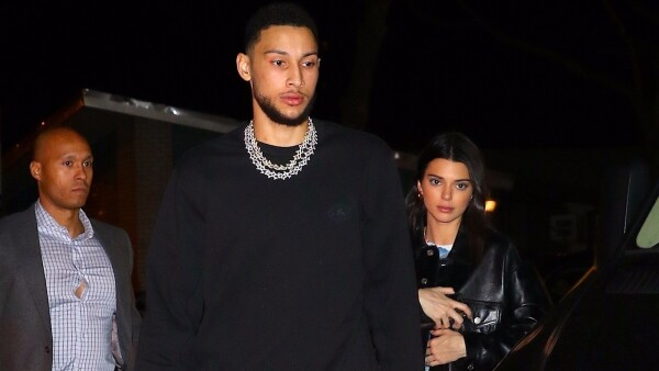 Kendall Jenner y Ben Simmons