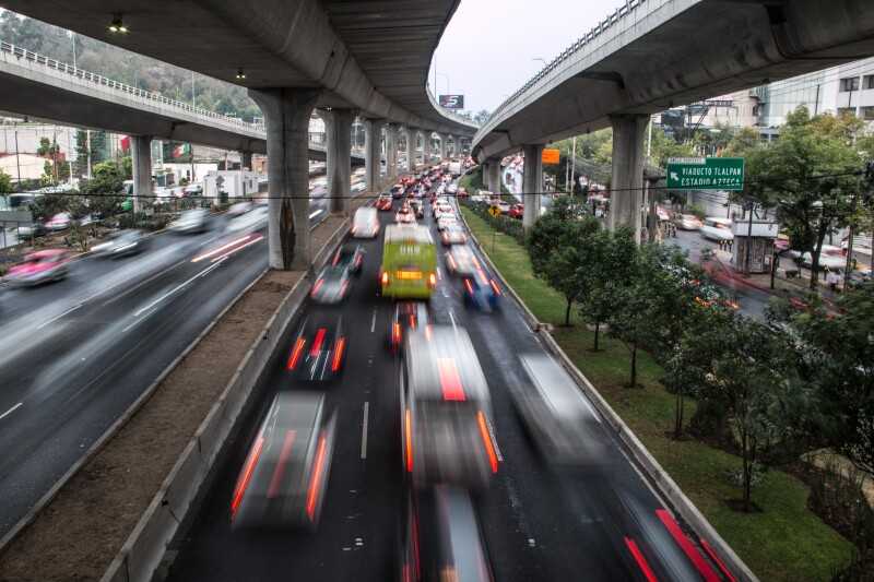 congestionamiento vehicular