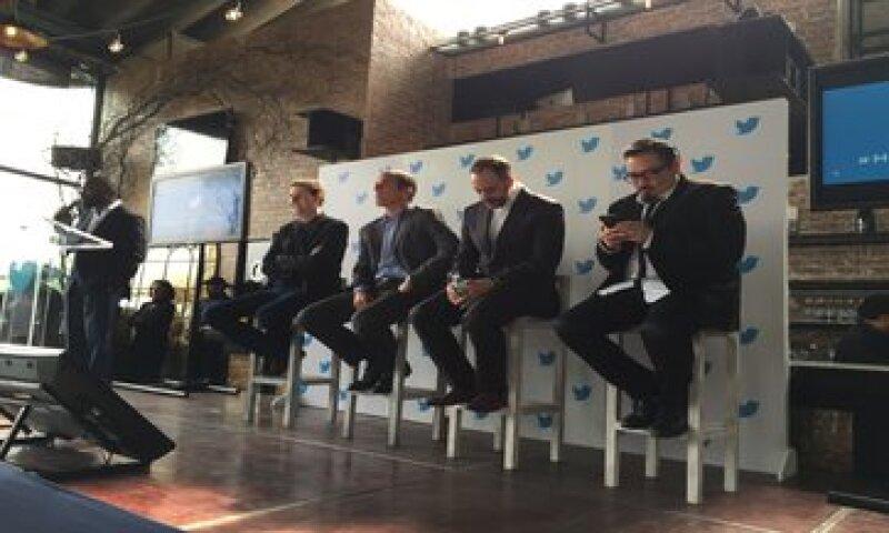 Los ejecutivos que estarán al mando de la oficina en México. (Foto: Gabriela Chávez )