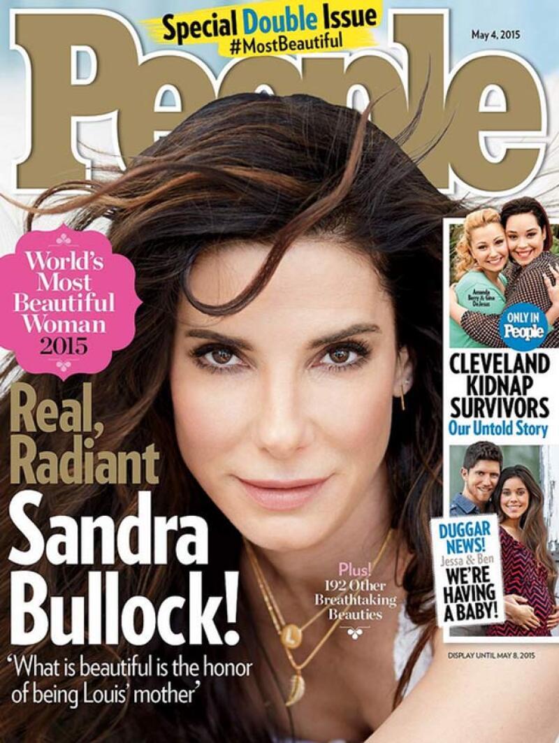 La actriz ha sido nombrada la más bella mujer de 2015 por la conocida revista y ella dice no poder creer la noticia.