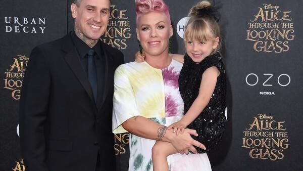 Pink, Carey Hart y Willow ya tienen nueva compañía