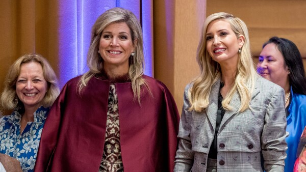 Ivanka Trump y Máxima de Holanda en duelo de estilo