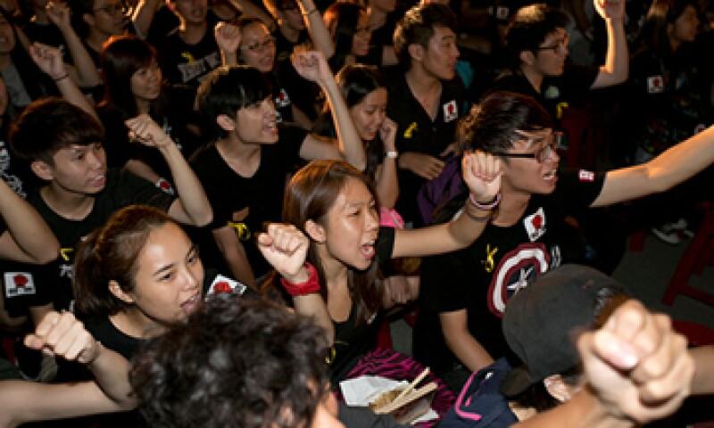 El Gobierno chino ha tratado de silencias las protestas bloqueando Internet y las redes sociales. (Foto: Getty Images)
