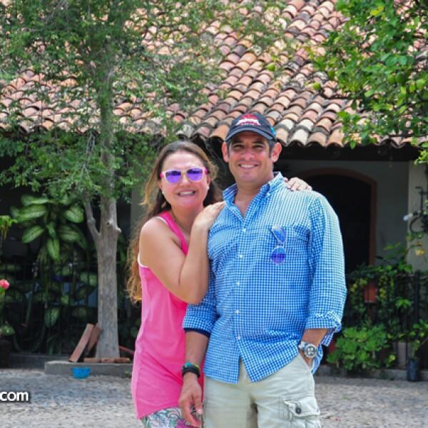 Cristi Rosell y Miguel Andoanegui
