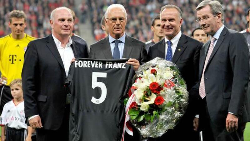 Franz Beckenbauer es miembro de honor de la Bundesliga