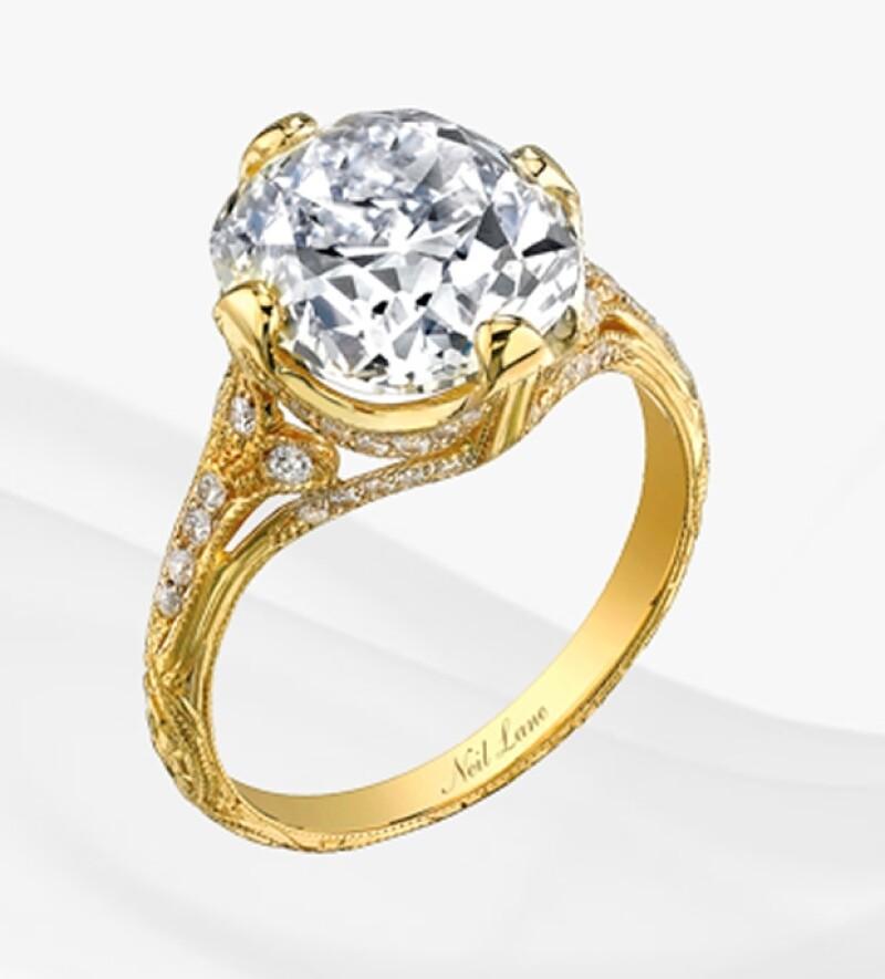 Este es al anillo que Liam le dio a Miley.