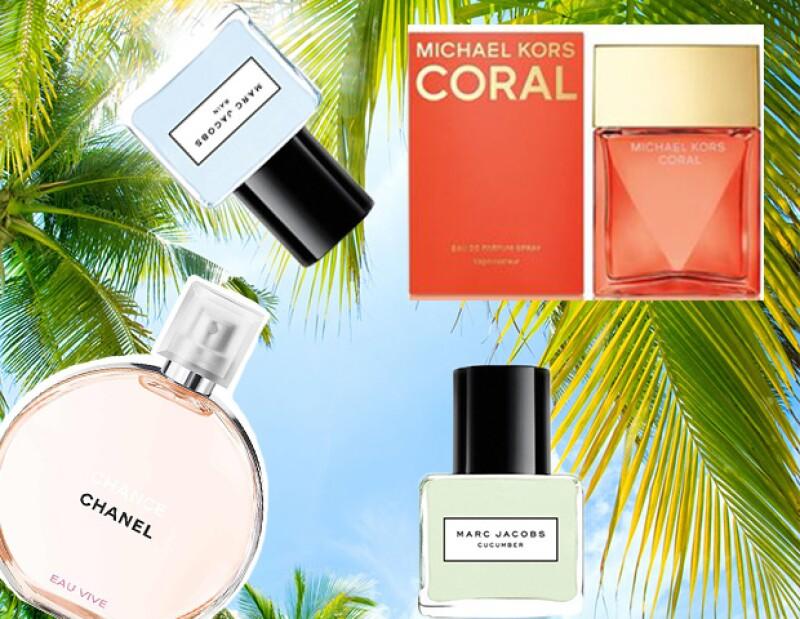 Los perfumes ideales son frescos y cítricos.