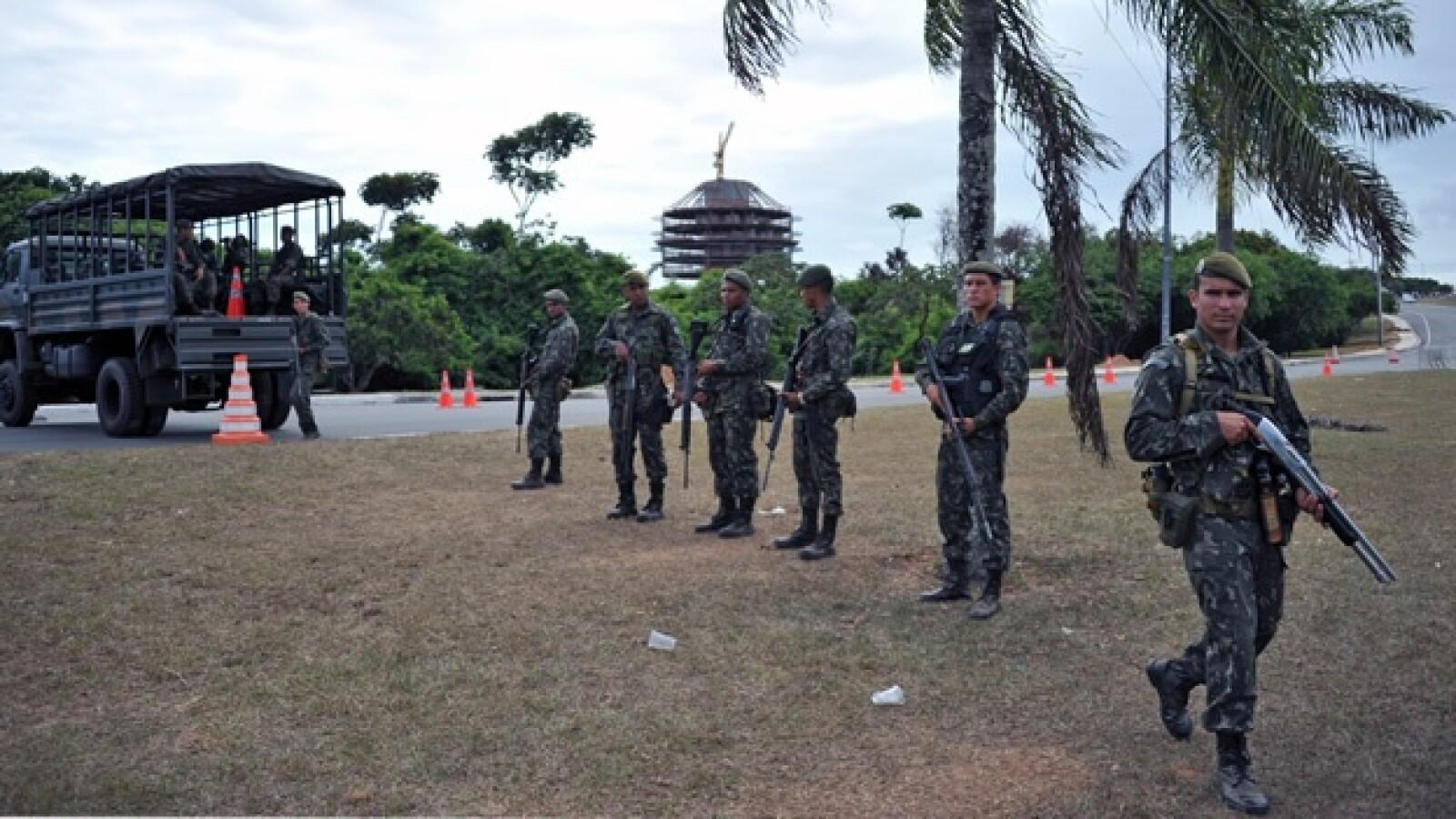 Brasil huelga policía Ejército