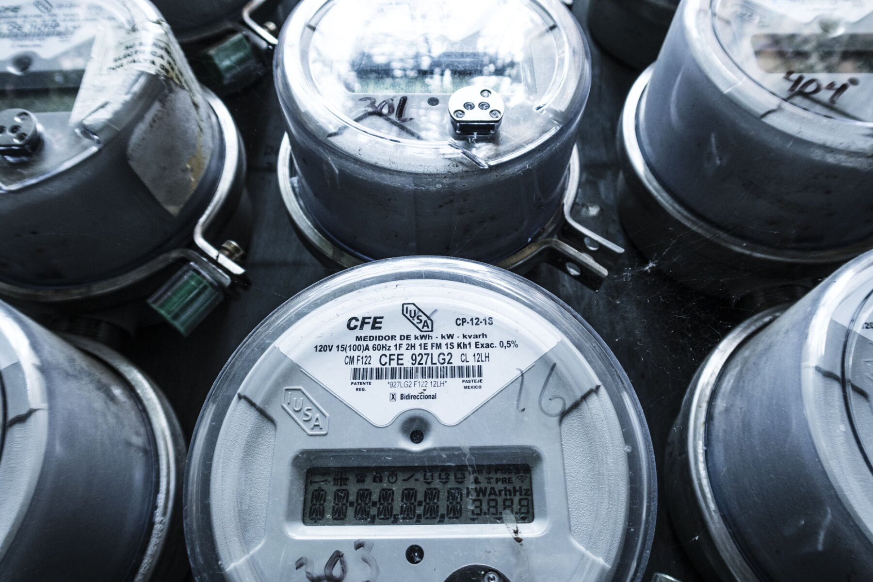 Medidores CFE