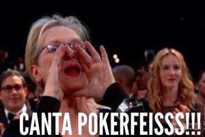 Meryl Streep fue presa de los memes durante la participación de Lady Gaga.