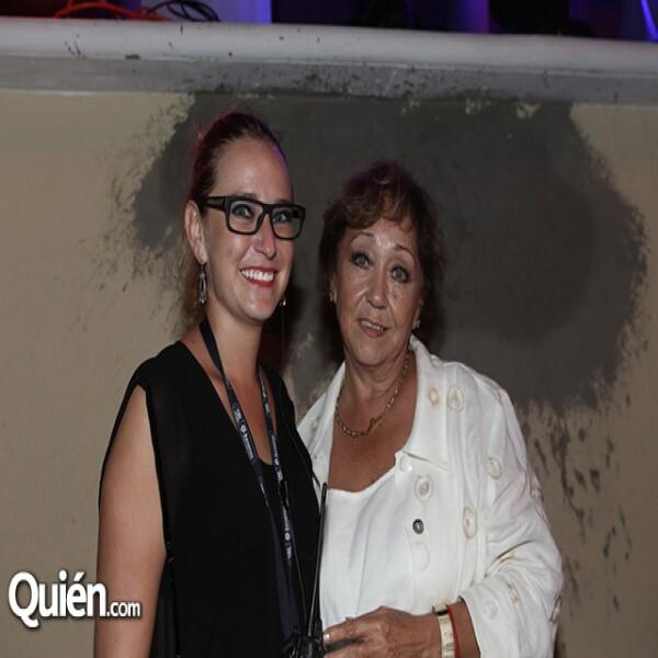 Montserrat Aldana y Patricia Meza