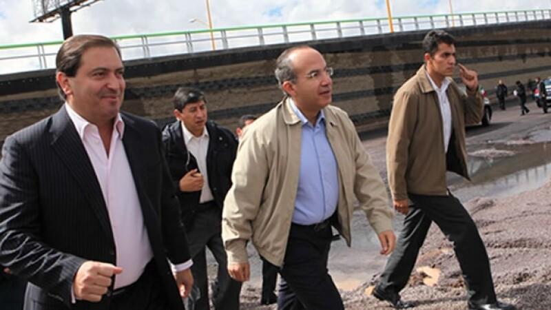 exgobernador de aguascalientes y presidente de mexico en el 2010