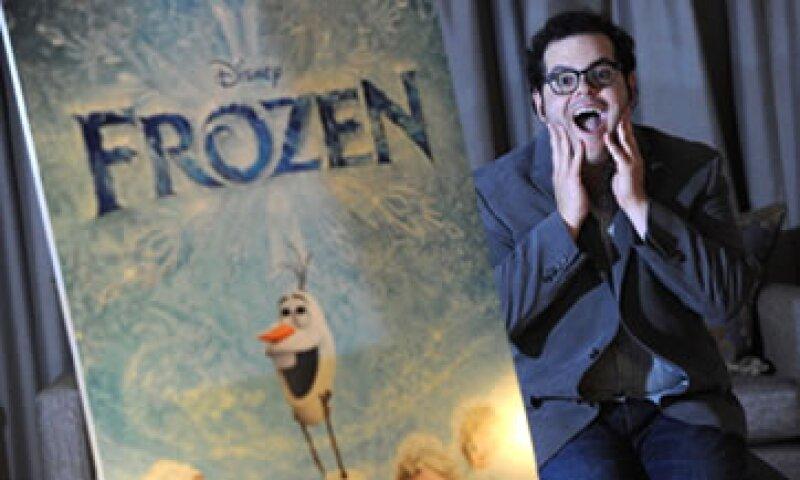 Jonathan Groff es la voz de Kristoff, uno de los personajes principales de la película. (Foto: Getty Images)