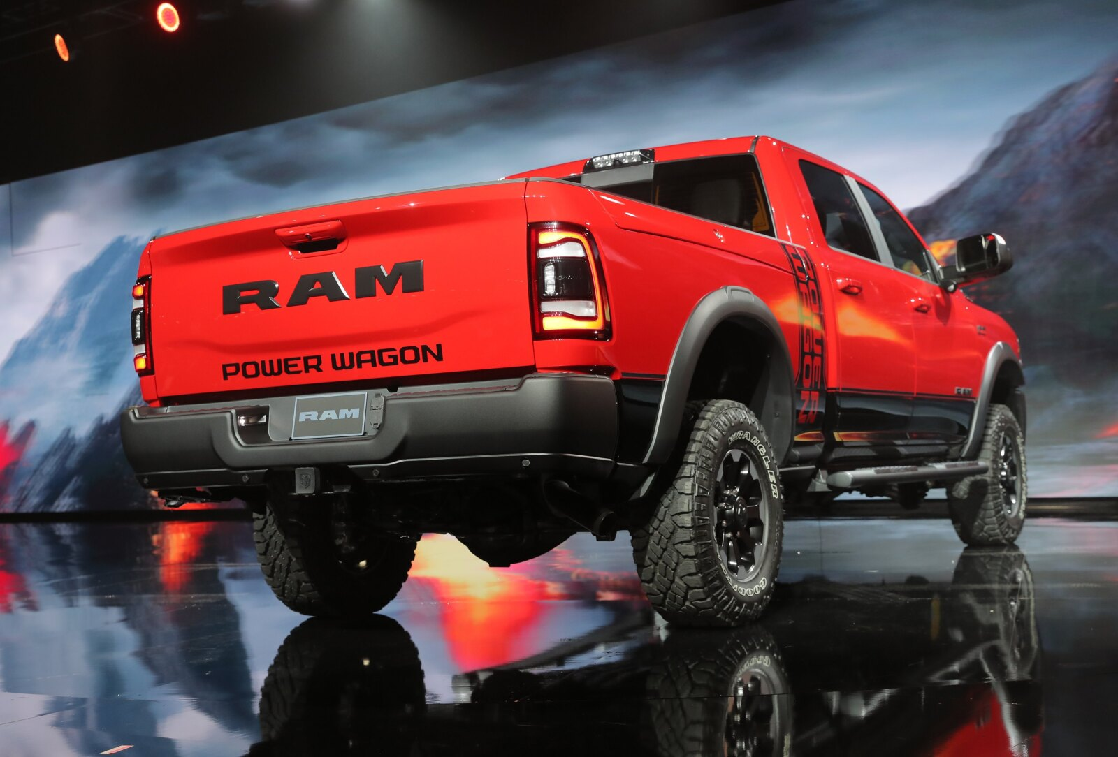 RAM Power Wagon pick up