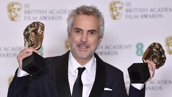 BRITAIN-ENTERTAINMENT-FILM-AWARDS-BAFTA cuaron