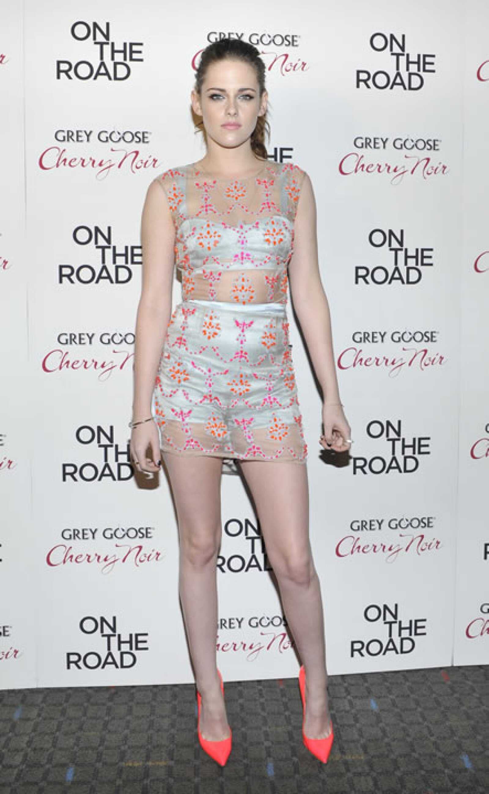 Kristen Stewart- `A este look le dedico mis dos dedos medios´.
