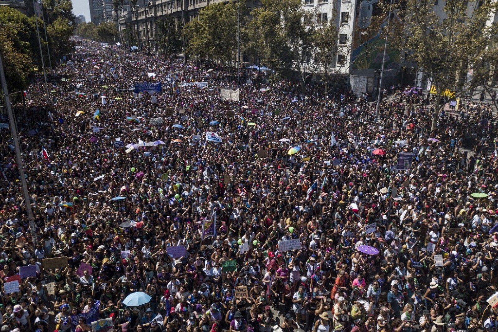 CHILE-WOMEN'S DAY-8MARCH