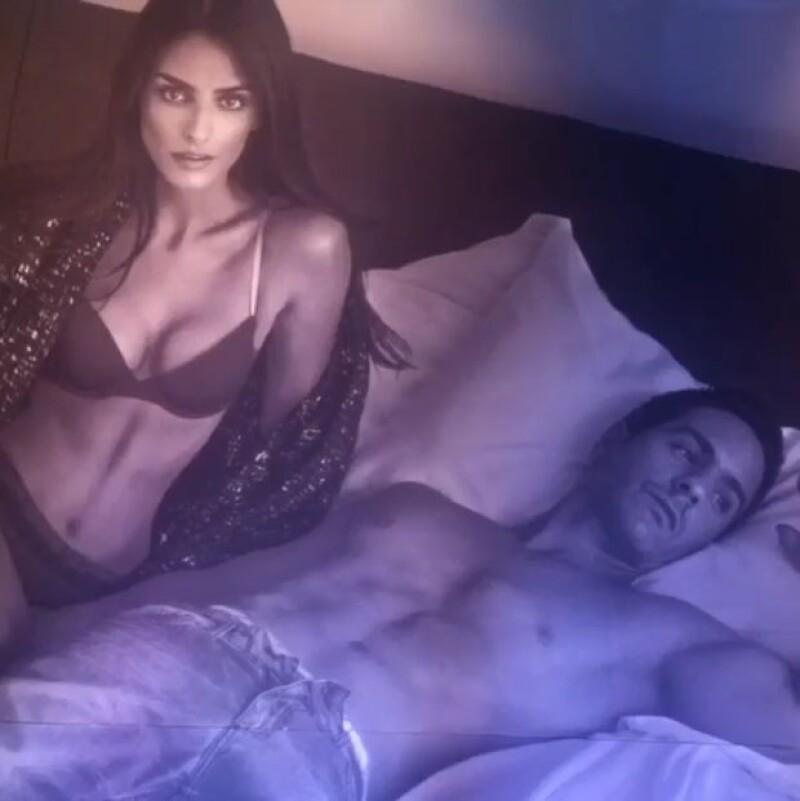 En la presentación de la nueva colección de Calvin Klein Jeans, donde ambos son imagen, la enamorada pareja comentó sus planes sobre una futura paternidad.