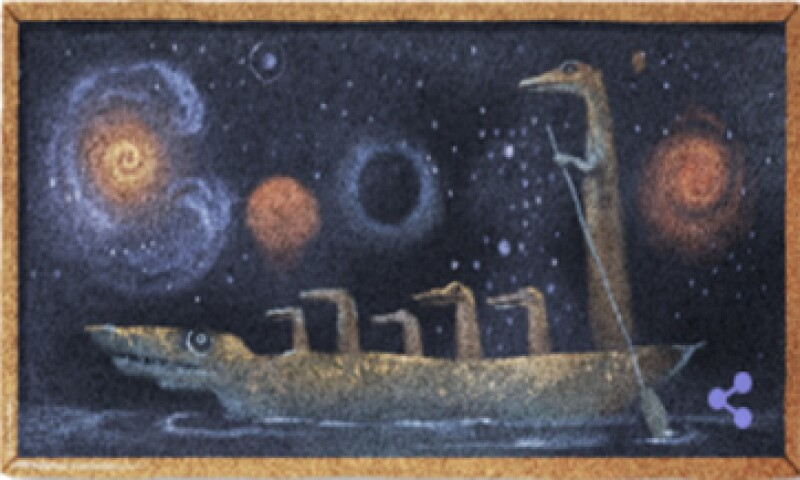 El doodle de este lunes muestra una de las obras de la artista que también se desempeñó como dramaturga y escenógrafa.  (Foto: tomada de google.com )