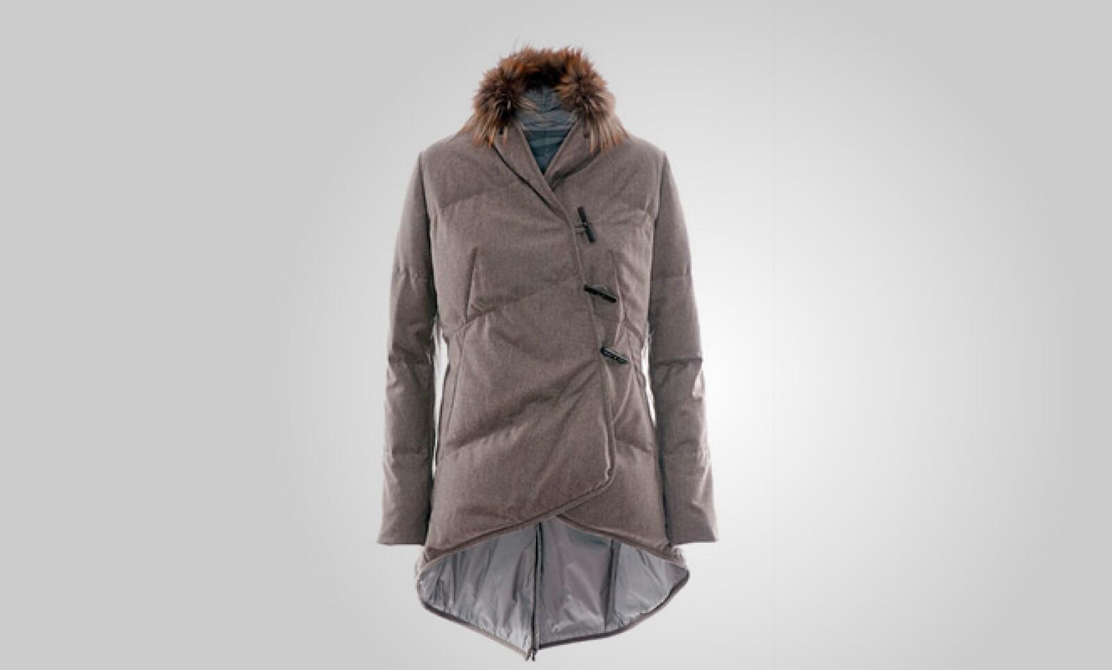 Otra opción para protegerse del frío, para damas y con acabo en visón por dentro.