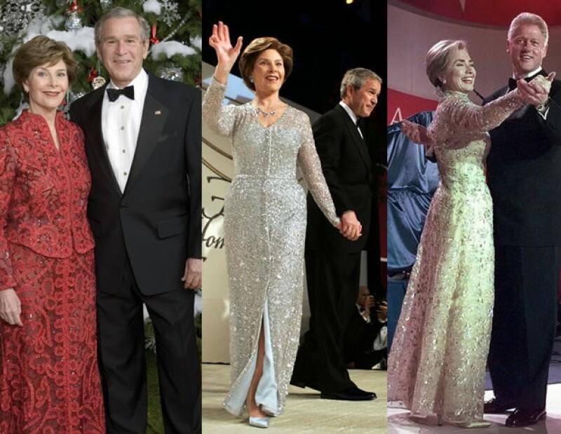Son varias las primeras damas que han utilizado sus diseños en eventos importantes. Nancy Reagan, Laura Bush e Hillary Clinton.