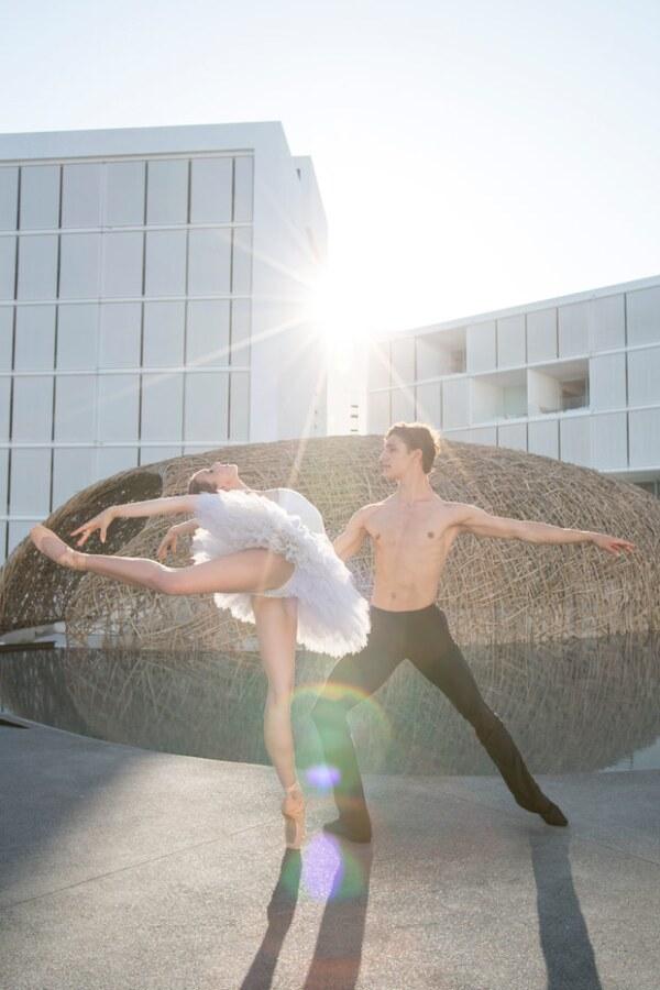 Melissa Chapski and Daniel Camargo.