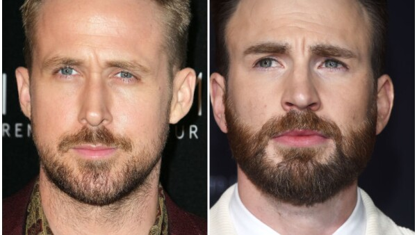 Ryan Gosling y Chris Evans.