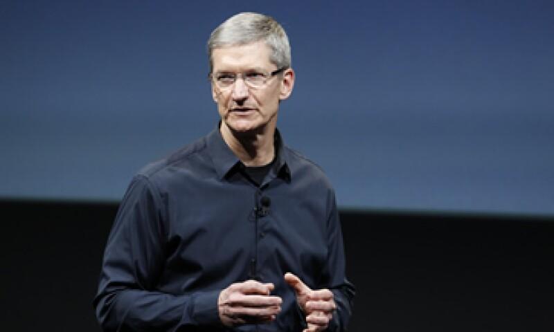 Tim Cook lleva más de 10 años trabajando para Apple. (Foto: AP)