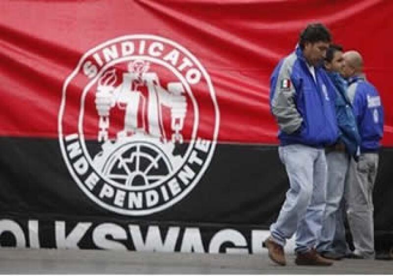 La huelga en VW cumple dos días este jueves. (Foto: AP)
