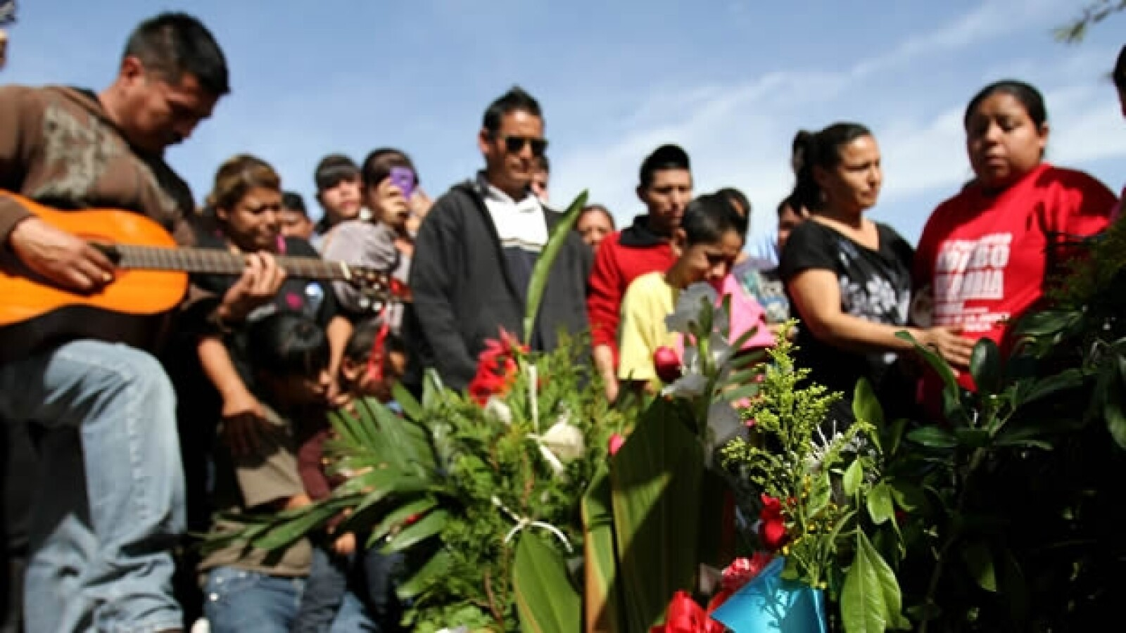 Kombo Kolombia funeral 5