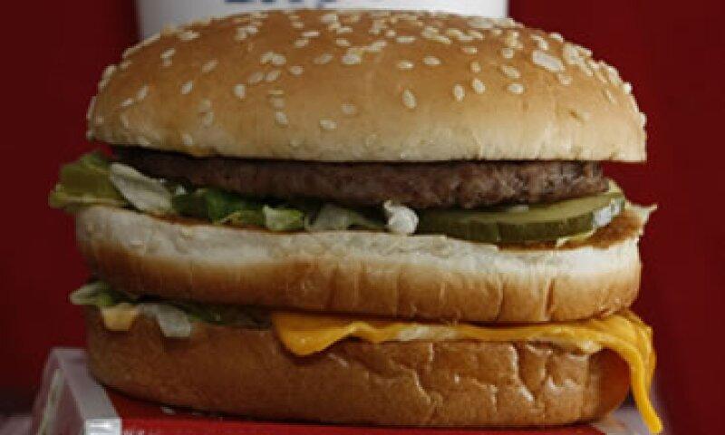 La Big Mac contiene 550 calorías. (Foto: AP)