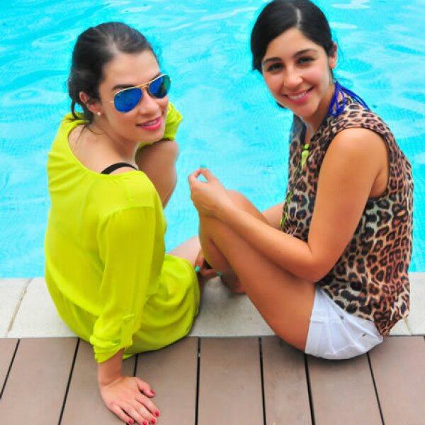 Andrea Ortiz y Magda Varela