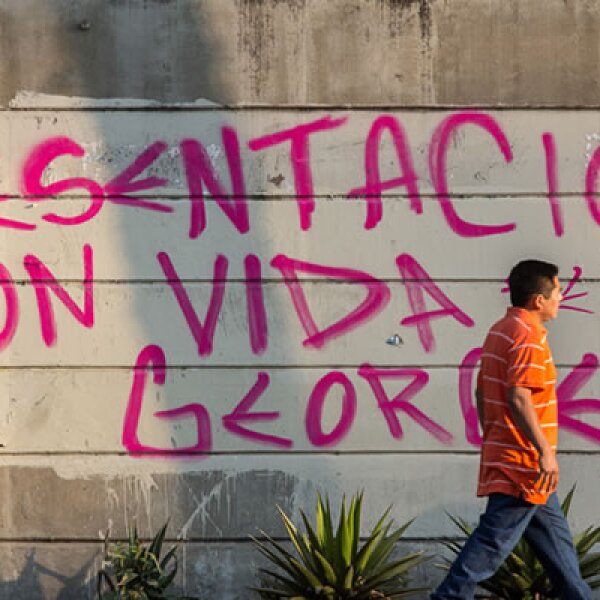Los manifestantes reportaban en redes sociales la desaparición de Jorge Emilio Yorch Esquivel Muñoz, la noche del miércoles.
