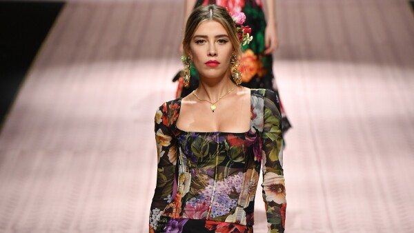 Michelle Salas desfila en Milán 2018