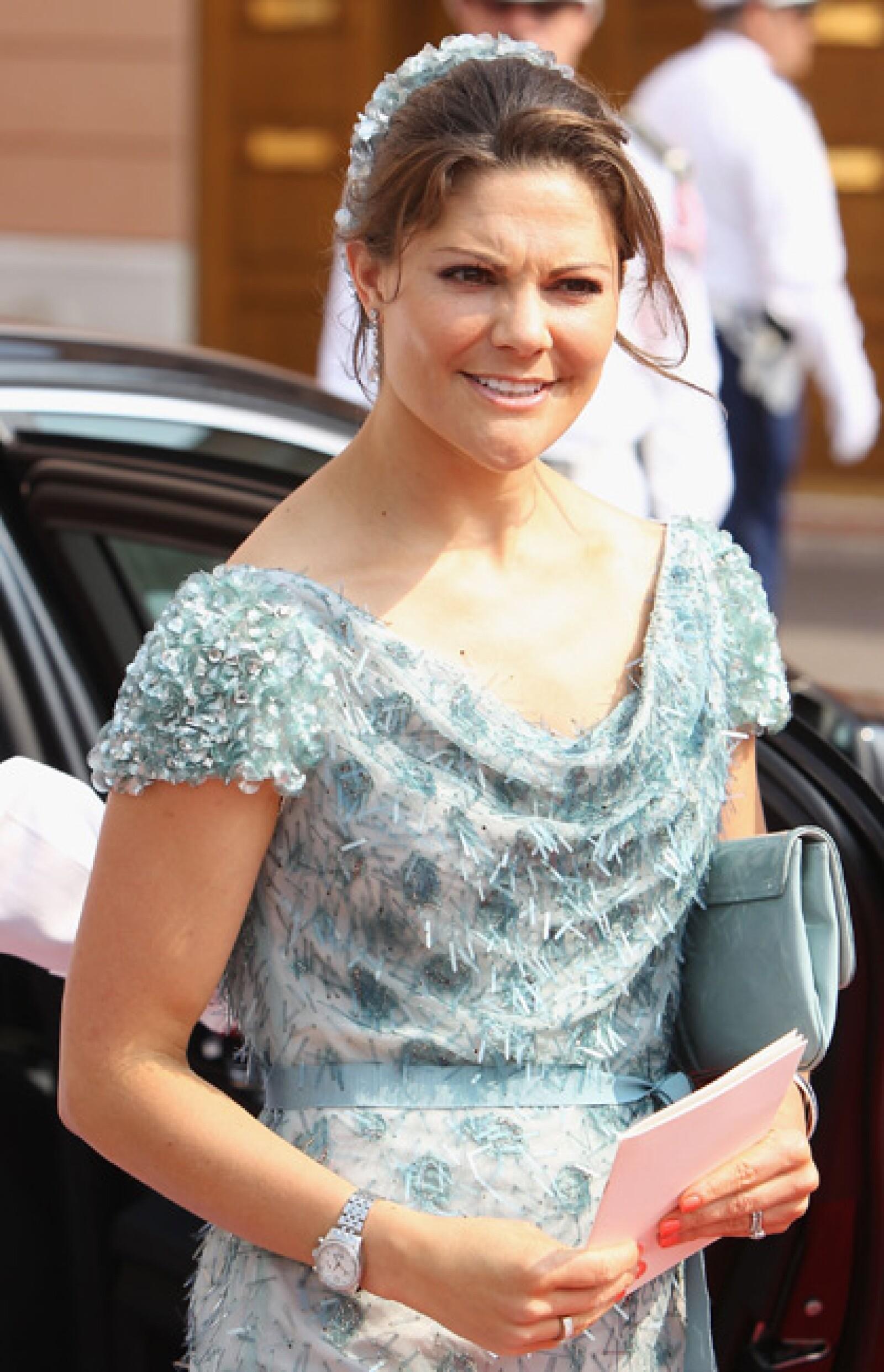 La princesa Victoria de Suecia.