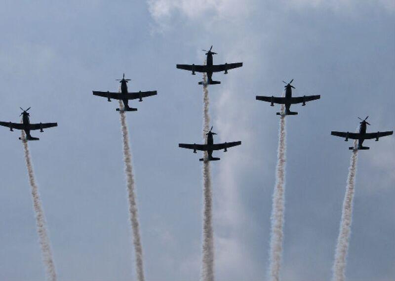 aviones militres