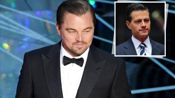 Enrique Peña Nieto, Leonardo DiCaprio