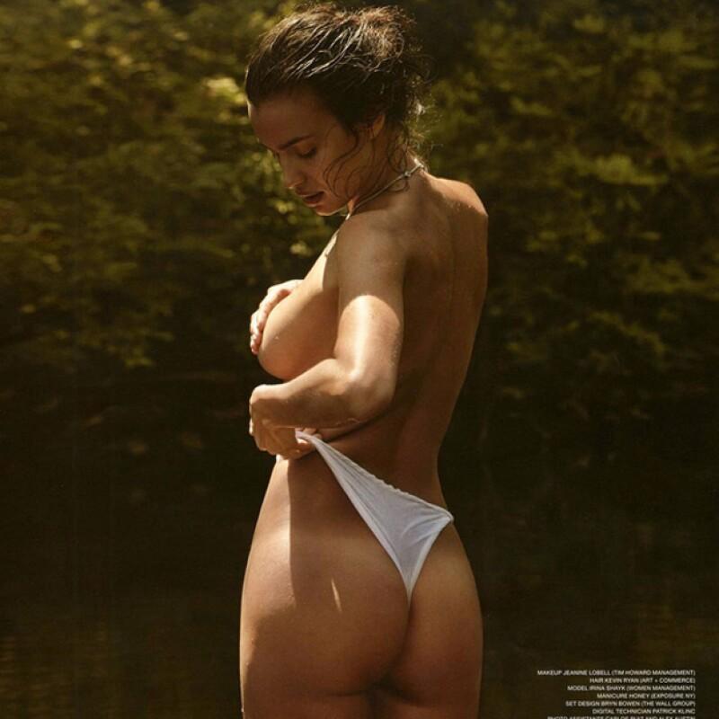 La modelo rusa impresionó enormemente a sus seguidores en Instagram al publicar una imagen en la que la sexytud es la principal protagonista.