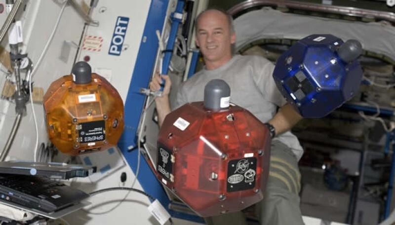 Estacion espacial SPHERES