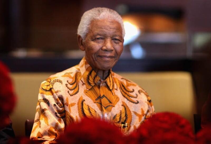 Nelson Mandela murió a los 95 años de edad.