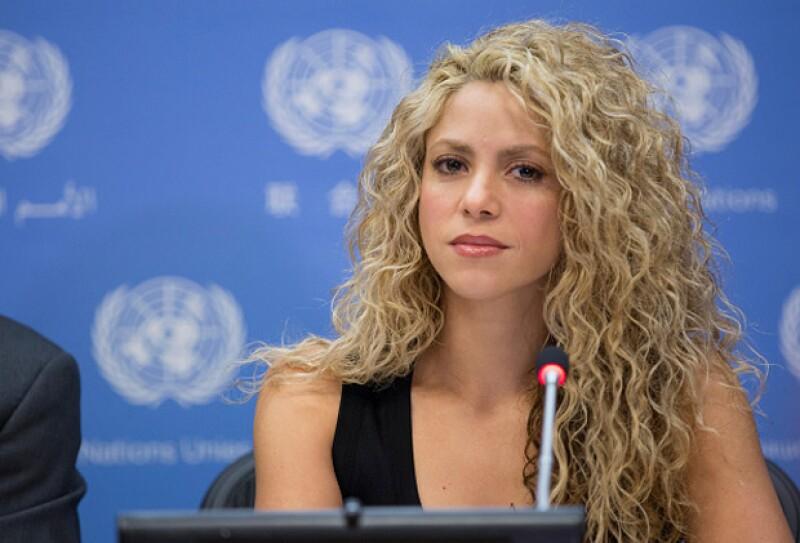 La guapa colombiana irradió su mommy glow durante su primer evento oficial.