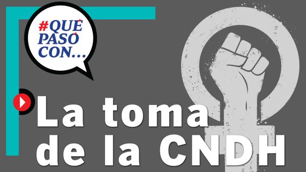 #QuéPasóCon... La toma de la CNDH