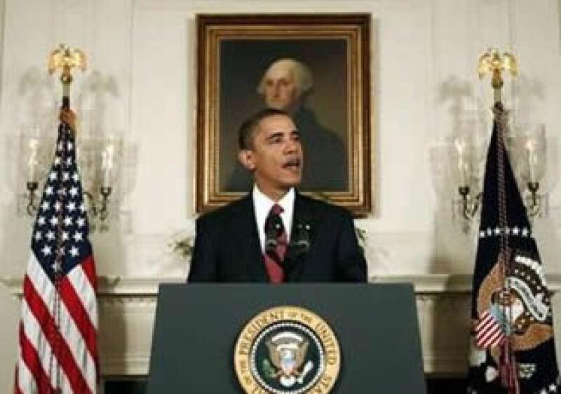 Las finanzas del Gobierno de Barack Obama acentuaron su deterioro en el décimo mes del año.  (Foto: Reuters)