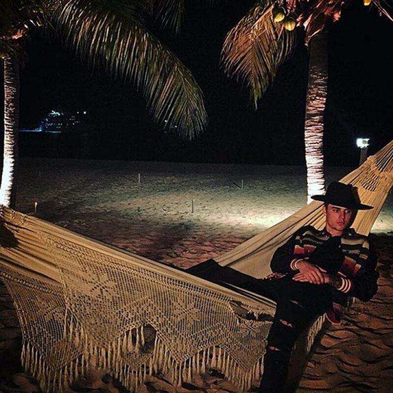Fuera del incidente en Tulum, el cantante ha pasado unas relajadas vacaciones en nuestro país.