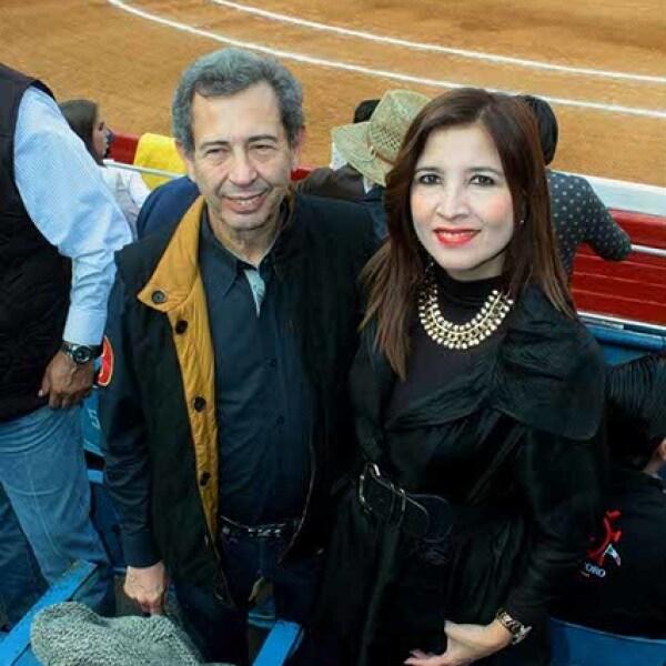 Francisco Macías Valadez y Angélica Gómez