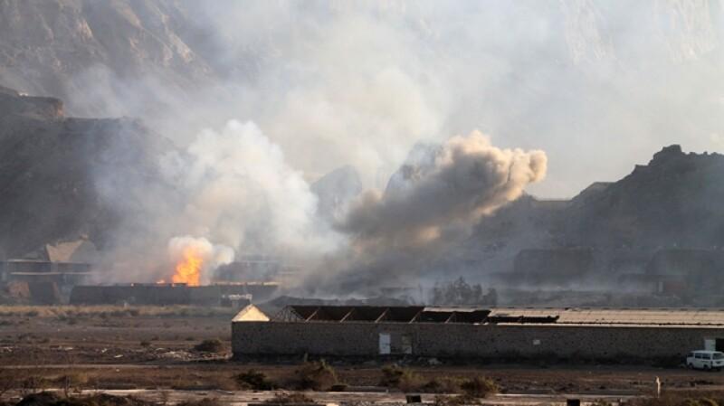 bombardeo sana yemen