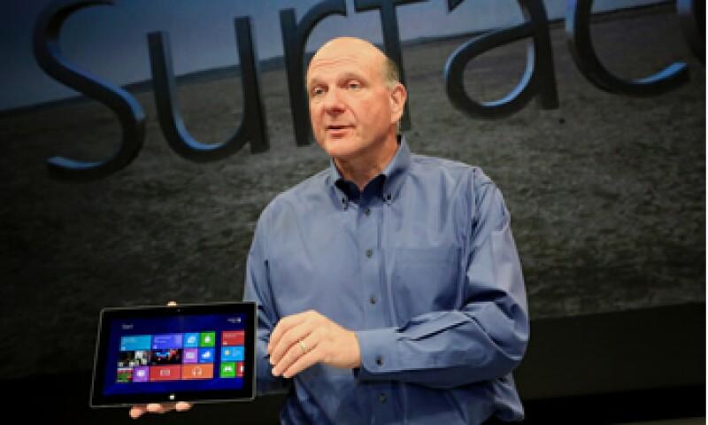 Steve Ballmer dirige Microsoft desde 2002. (Foto: AP)